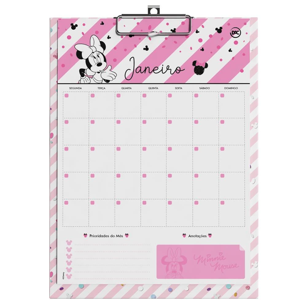 Prancheta Planner Permanente Minnie - 3065