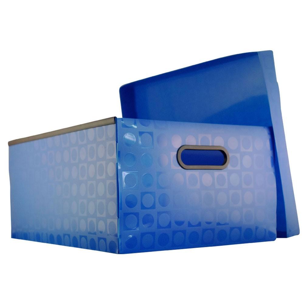 Caixa Organizadora Méd. Vision Azul
