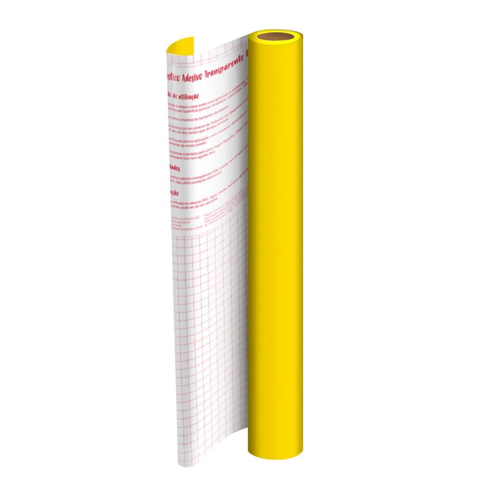 Rolo de Plástico Adesivo Amarelo DAC 45 cm x 10 mt - 1702AM