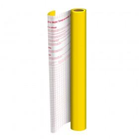 Adesivo Plástico Amarelo 45 cm x 10 mt - 1702AM