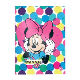 Pasta Catálogo Ofício Lombo Ajustável Minnie com 10 Envelopes Médios - 2845