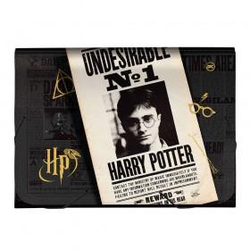 Pasta Sanfonada A4 Harry Potter com 12 divisões - 3049