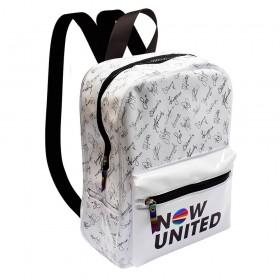 Mochila em Cristal Branca Now United - 3359