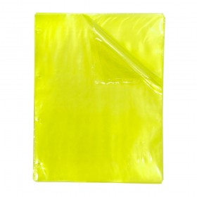Envelope Plástico A4 Amarelo DAC Color Bubble com espessura Média e 4 Furos - 50 unid - 5085A4-50
