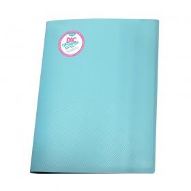 Pasta Catálogo A4 Azul DAC Breeze com 10 Envelopes Médios - 808PP-AZ