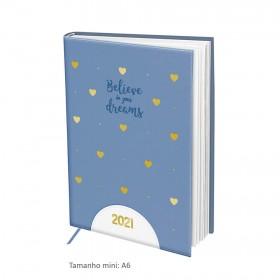 Agenda Mini DAC 2021 Corações - 3078