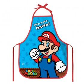 Avental Infantil Super Mario