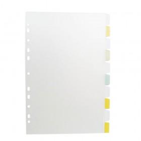 Divisórias Plásticas 10 unid com Visor - Furação Universal