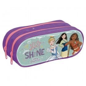 Estojo Escolar Duplo em PVC Disney Princesa - 3173