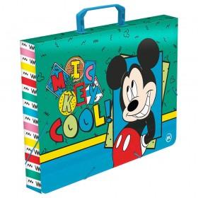 Maleta Ofício com Elástico Mickey - 3252