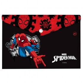 Malote A4 com Botão Homem Aranha