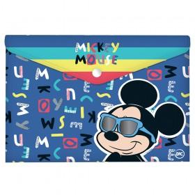 Malote A4 com Botão Mickey - 2827