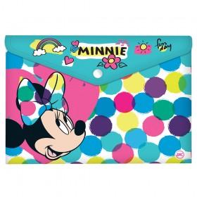 Malote A4 com Botão Minnie - 2842