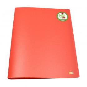 Pasta Catálogo A4 Biodegradável Cor Goiaba DAC + 10 Envelopes Finos - 3351PP-GO