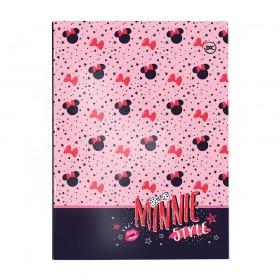 Pasta Catálogo Ofício com Lombo Ajustável Minnie + 10 Envelopes - 3273