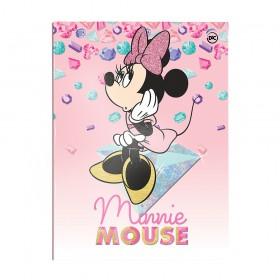 Pasta Catálogo Ofício Lombo Ajustável Minnie com 10 Envelopes Médios - 2849