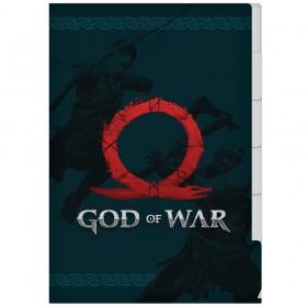 Pasta em L com 5 divisórias A4 God of War