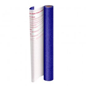 Rolo de Plástico Adesivo Azul com Glitter DAC 45 cm x 10 mt - 1703AZ