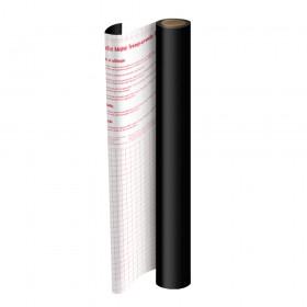 Rolo de Plástico Adesivo Preto DAC 45 cm x 2 mt - 1708PR