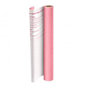 Rolo de Plástico Adesivo Rosa com Glitter DAC 45 cm x 10 mt - 1703RS