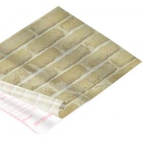 Rolo de Plástico Adesivo Tijolo Claro DAC 45 cm x 2 mt - 171206