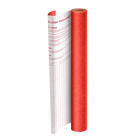 Rolo de Plástico Adesivo Vermelho com Glitter DAC 45 cm x 10 mt - 1703VM