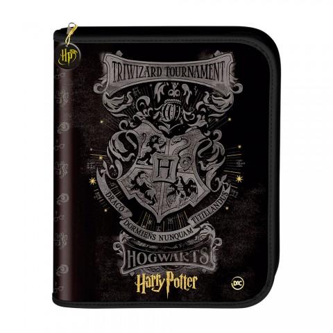 Fichário Universitário Fechamento em Zíper Harry Potter com 48 Folhas - 2977