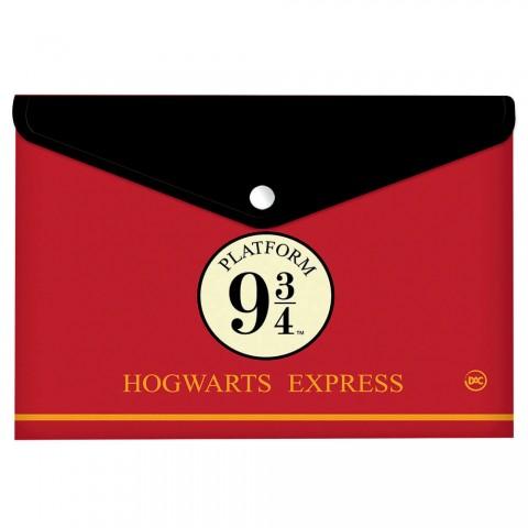 Malote A4 com Botão Harry Potter - 2978