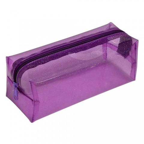 Estojo Escolar DAC em PVC Cristal Glitter - E208RX