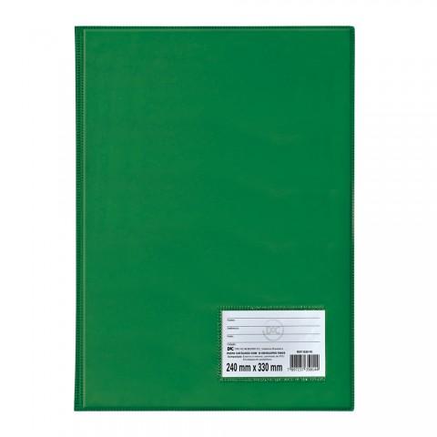Pasta Catálogo Ofício DAC Verde com 10 Envelopes Finos