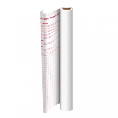 Adesivo Plástico Branco 45 cm x 10 mt - 1702BR