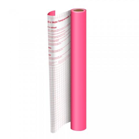 Adesivo Plástico Rosa 45 cm x 10 mt - 1702RS