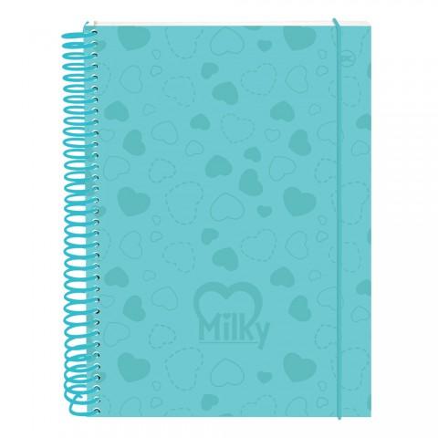 Caderno DAC Milky Azul 10 Matérias
