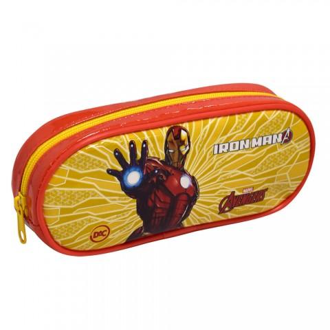Estojo Escolar DAC em PVC Avengers Homem de Ferro - 2796