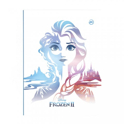 Pasta Catálogo Ofício Lombo Ajustável Frozen 2 com 10 Envelopes Médios - 2813