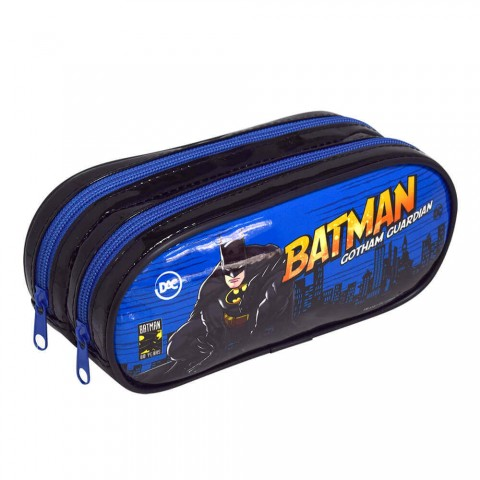 Estojo Escolar Duplo DAC em PVC Batman - 2986