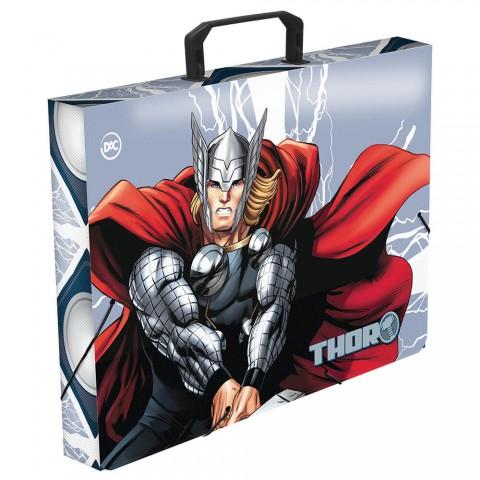 Maleta Ofício com elástico Avengers Thor - 3061