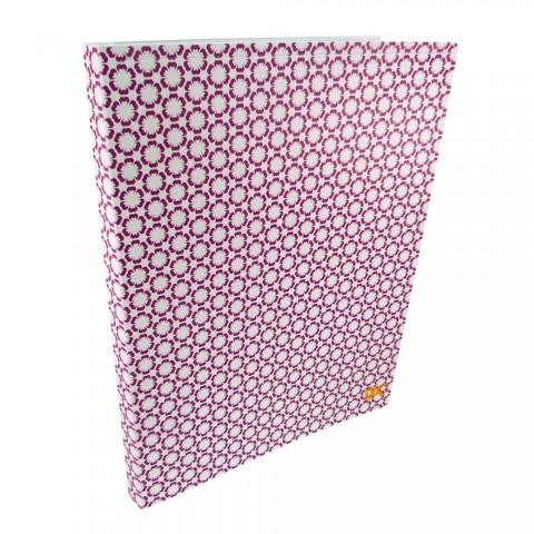 Pasta Catálogo A4 DAC Estampada Pink com 20 Envelopes em PP