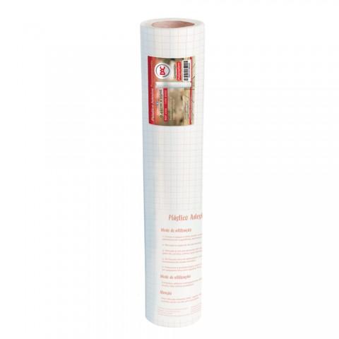 Adesivo Plástico Transparente PP 45 cm x 25 mt