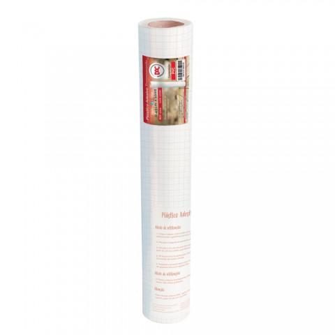 Adesivo Plástico Transparente PVC 45 cm x 10 mt