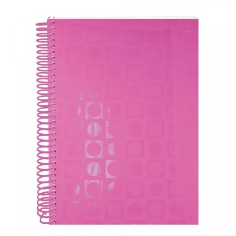 Caderno DAC Vision Rosa 10 matérias