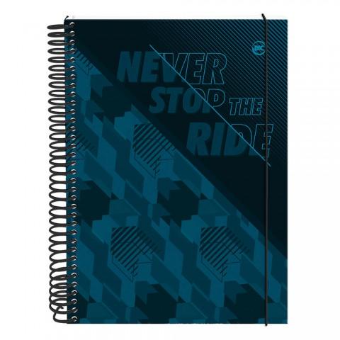 Caderno Mini 1/4 DAC Never Stop the Ride 10 Matérias - 3308