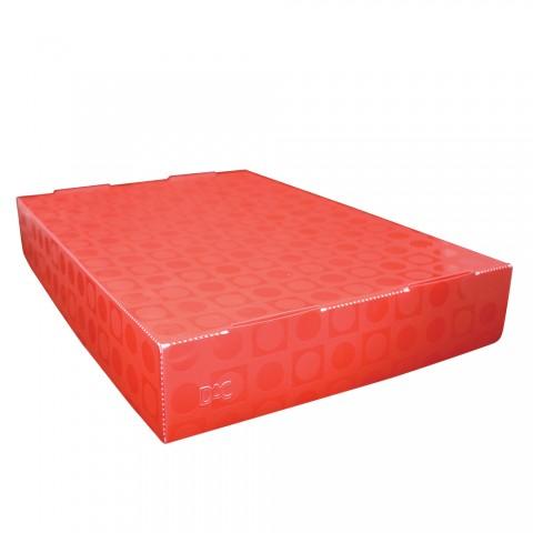 Caixa Organizadora Slim Vision Vermelho