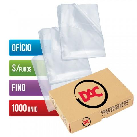 Envelope Plástico DAC Ofício com espessura Fino e sem Furo - 1.000 unid - 069SF