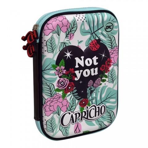 Estojo Escolar Case Capricho - 2867