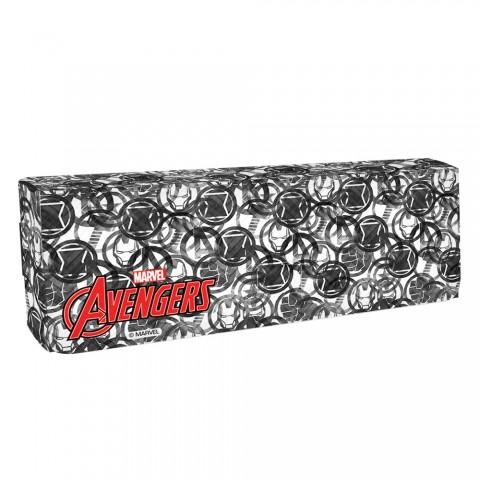 Estojo escolar DAC em plástico Avengers