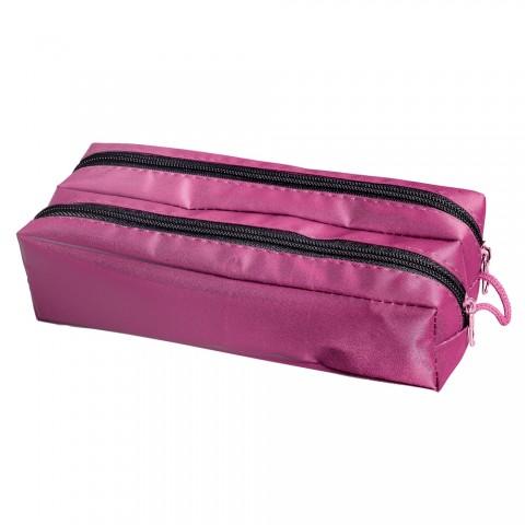Estojo escolar duplo DAC Basic Feminino Pink