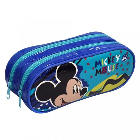 Estojo Escolar Duplo DAC em PVC Mickey - 2825