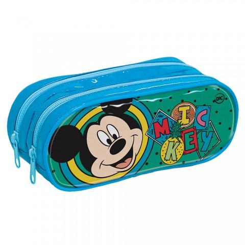 Estojo Escolar Duplo em PVC Mickey - 3167