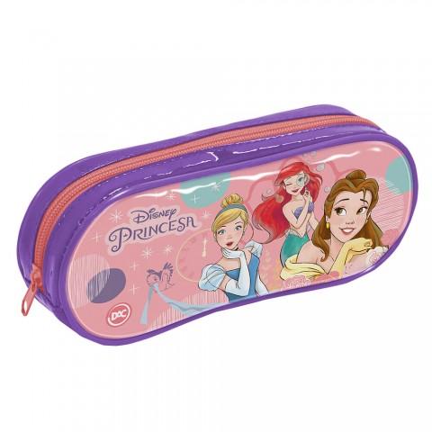 Estojo Escolar em PVC Disney Princesa - 3172